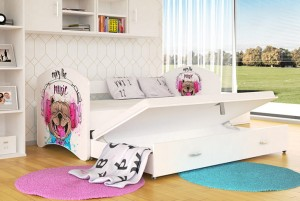 Bed Lucky dubbel 200x90